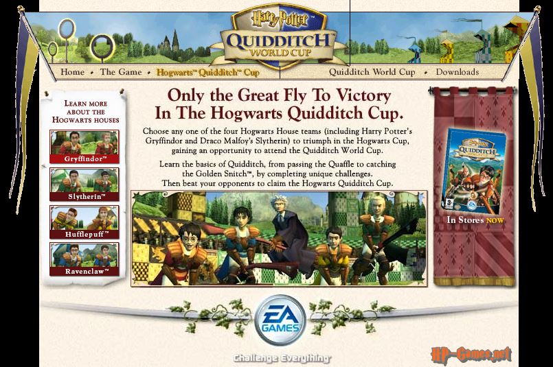 Site of the Quidditch World Cup