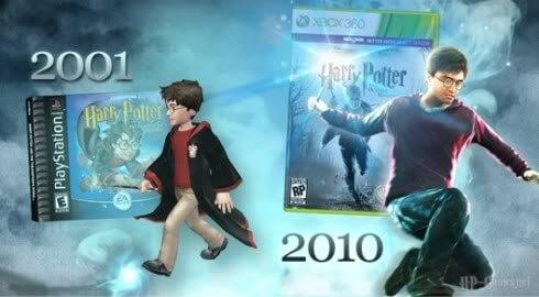 Гарри из первой и последней игр
