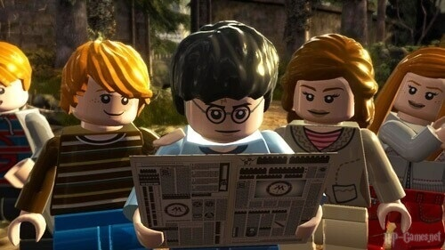 ЛЕГО Гарри Поттер: годы 5-7