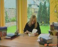 Книга в кабинете Дж. К. Роулинг
