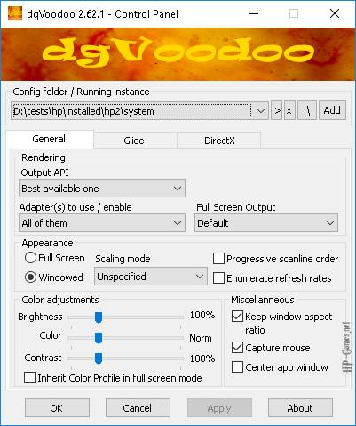 dgVoodoo